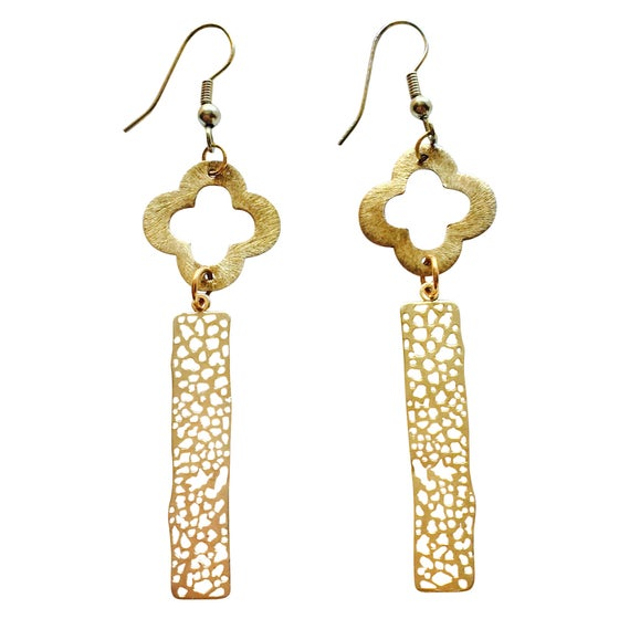 Image of CHOLE & CLOVER EARRINGS