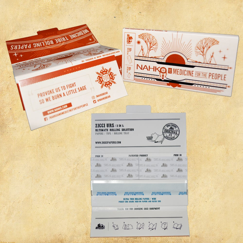 Image of Nahko - Medicine Tribe Rolling Papers