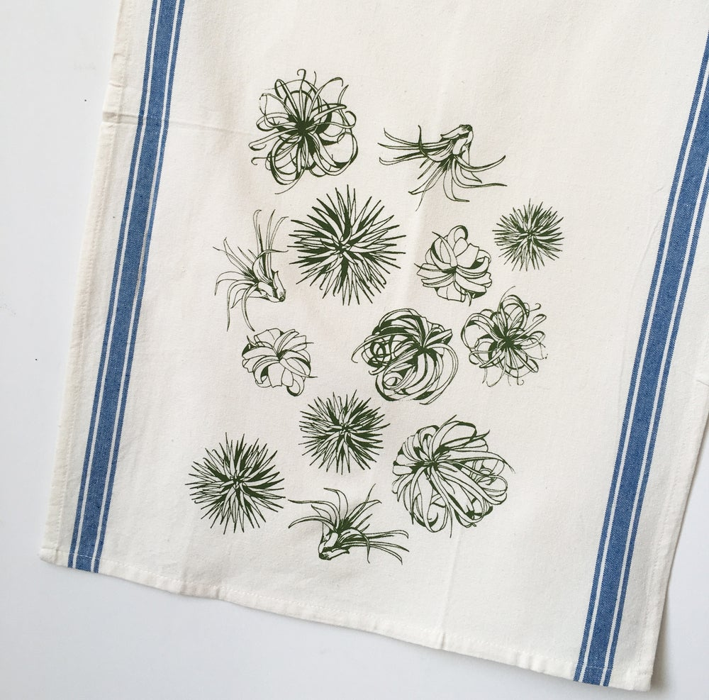 Image of Air Plant Pattern Towel