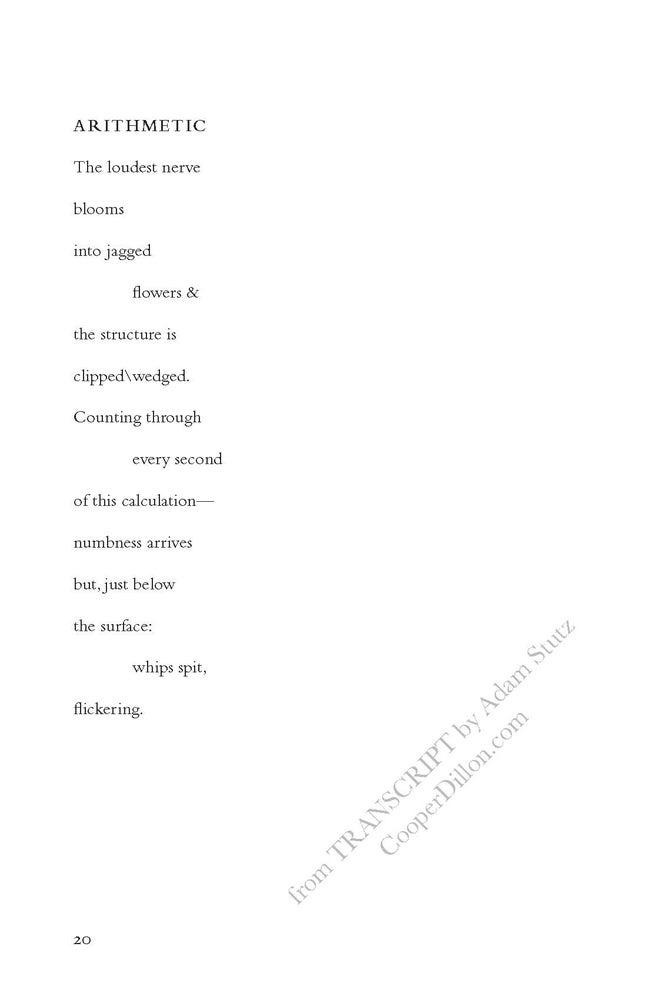 Image of Transcript by Adam Stutz