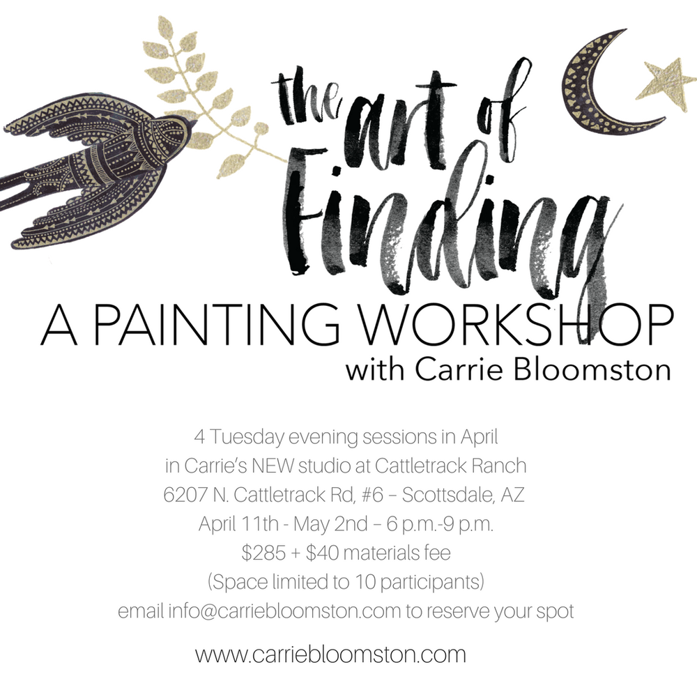 Image of APRIL 2017 Tuesday PAINTING workshop