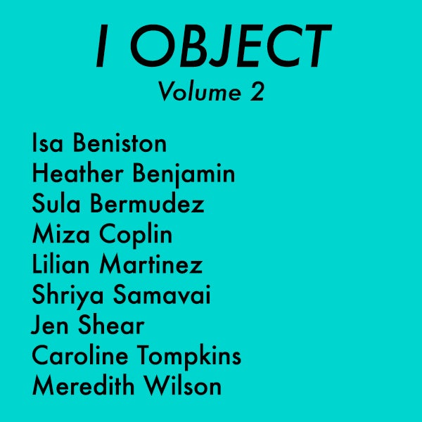 Image of I OBJECT Volume 2 PRE-ORDER