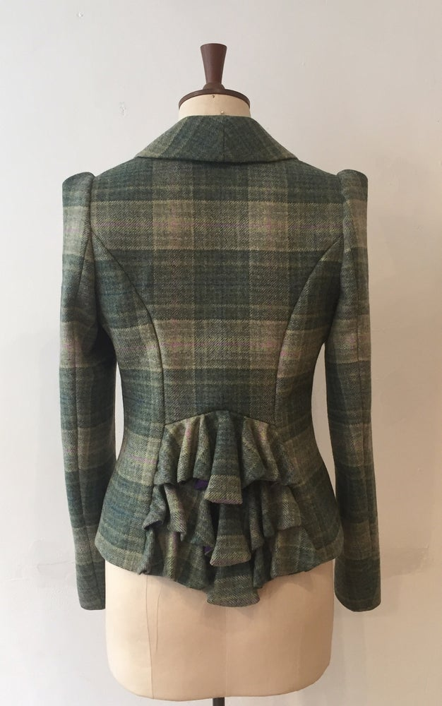 Image of Tweed Bustle Show jacket