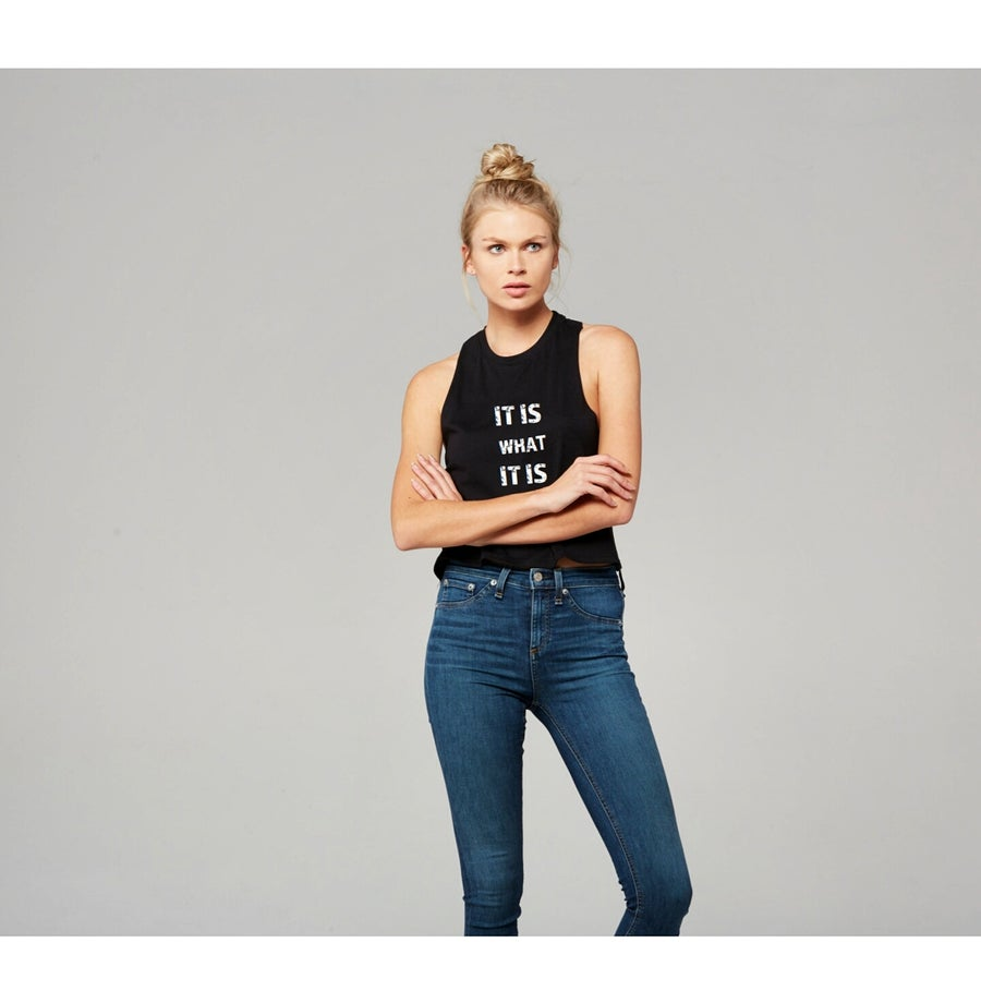 Image of It Is What It Is - RZR crop tank