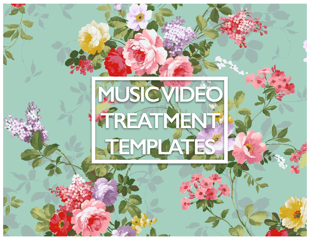 Image of Music Video Treatment TEMPLATES!