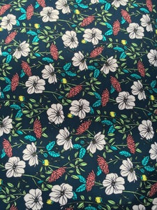 Image of Custom Floral French Terry - Alison Modern Floral
