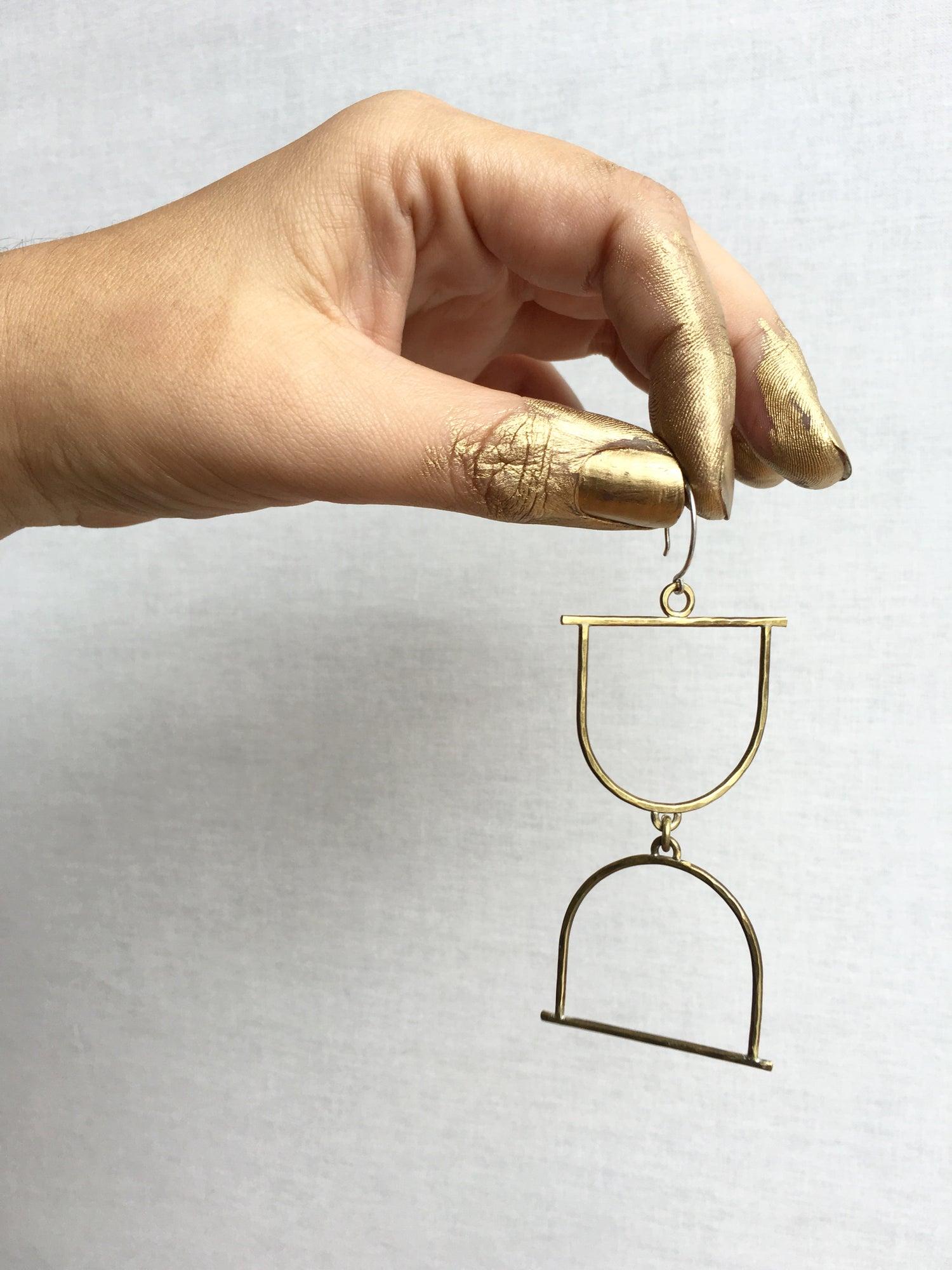 Image of Hourglass Earrings