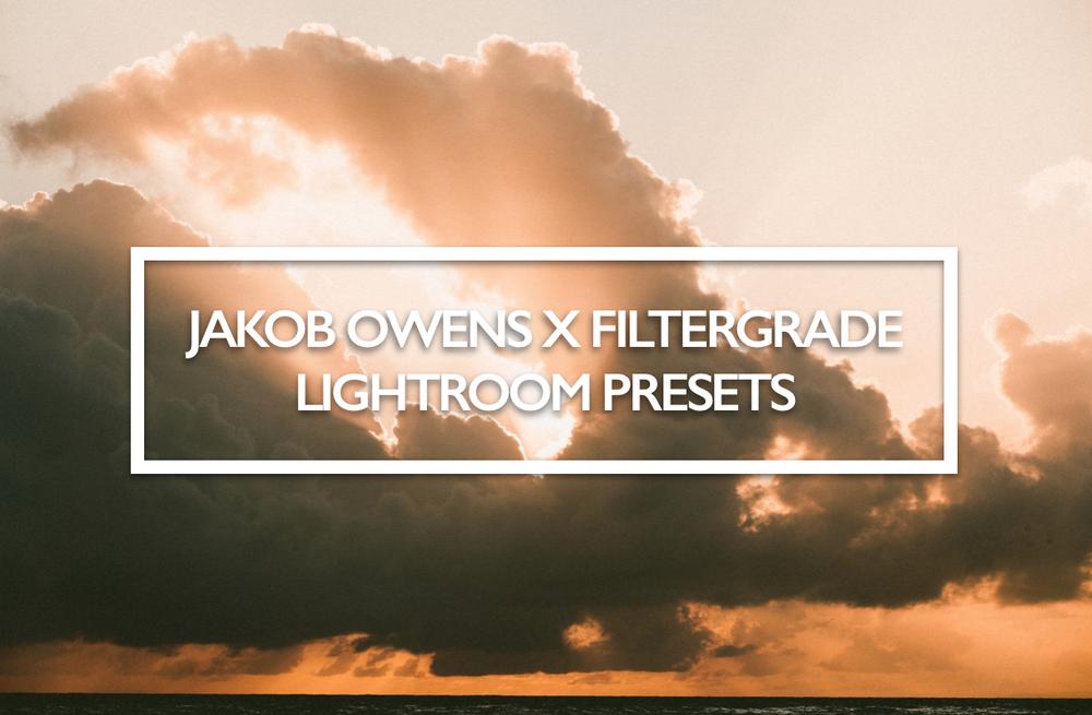 Image of Jakob Owens x Filter Grade Lightroom Presets