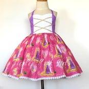 Image of Simple Sweetheart Rapunzel Dress