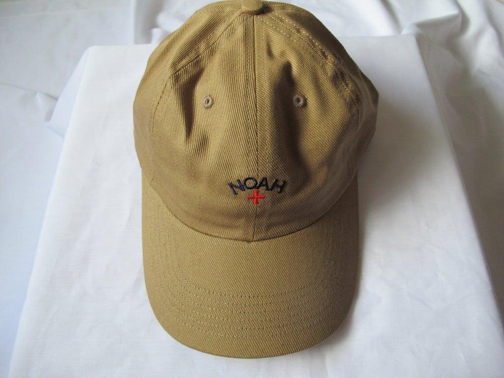 Image of NOAH - Core Logo Dad Hat (Khaki)