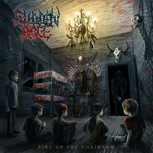Image of SUDDEN RAGE Fire Up The Chainsaw CD/T-Shirt/Mix NEW !!!
