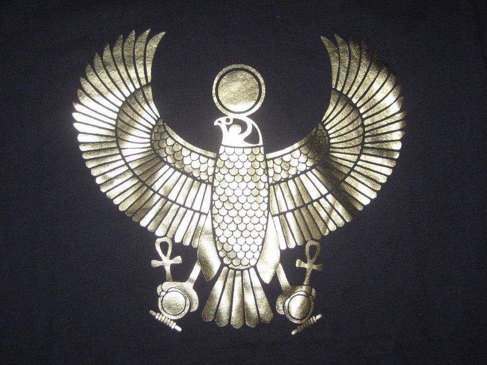Image of Men's Gold Heru Foil Vintage Tee