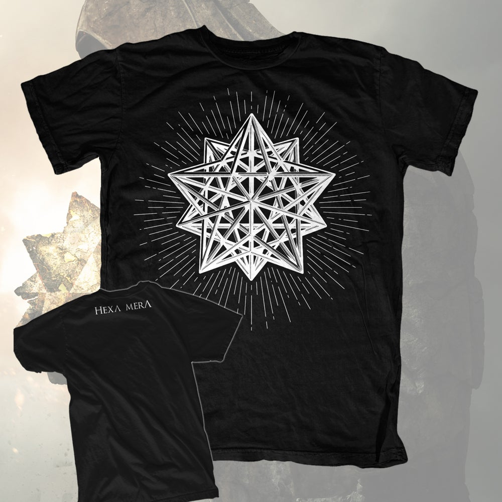 Image of DODECAHEDRON SHIRT BLACK