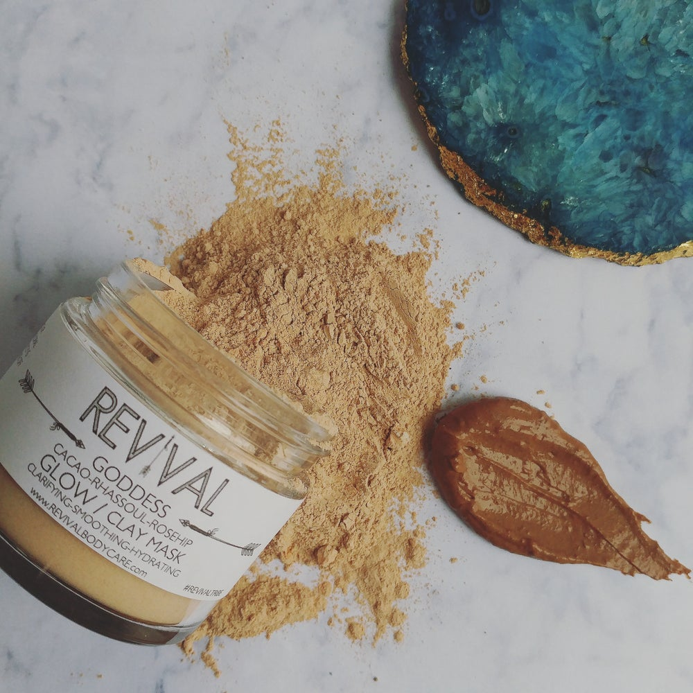 Image of GODDESS CLAY MASK-GLOW
