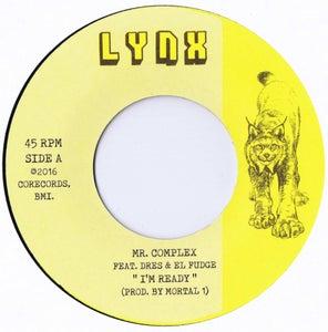"Image of MR. COMPLEX ""I'm Ready"" feat. Dres & El Fudge & ""Commercial Rap"" 7"" single"