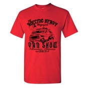 Image of LIIMITED RUN - ( ROLLING HEAVY VAN SHOW - Desert Generator ) T-Shirt