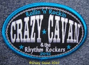 "Image of ""ROLLIN 'N' ROCKIN"" 2012 - OVAL PATCH"