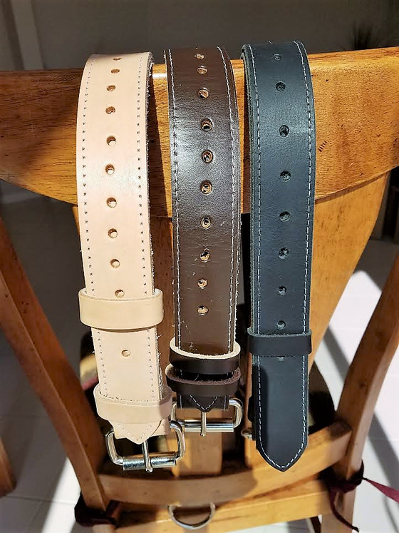 Image of NEW! HIGH QUALITY LEATHER TIE-DOWN STRAPS FOR THAT CLASSIC VINTAGE LOOK. (SET OF 2)