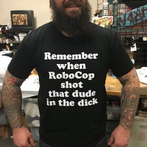 Image of Remember when RoboCop - tshirt