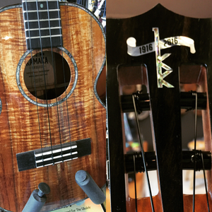 Image of Kamaka Model HF-3 D21 Tenor Deluxe 2 Ukulele