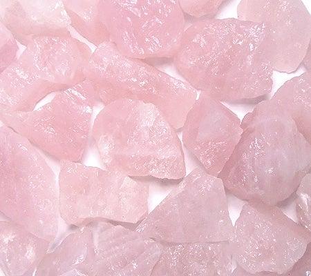 Image of Raw Rose Quartz (New Larger Size)
