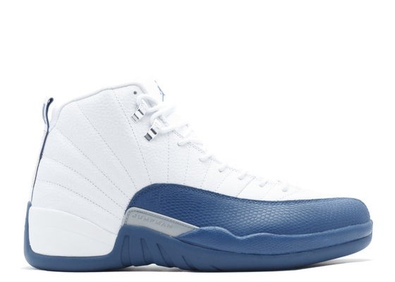 Image of AIR JORDAN 12 FRENCH BLUE