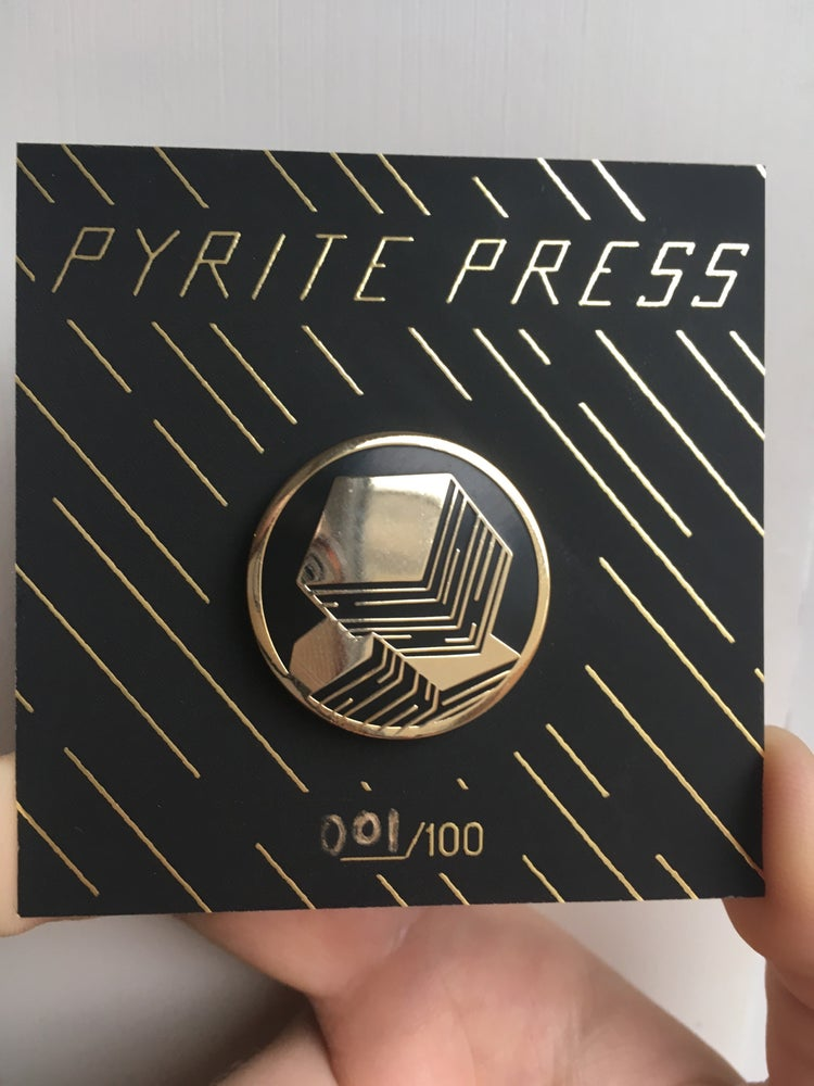 Image of Pyrite Pin