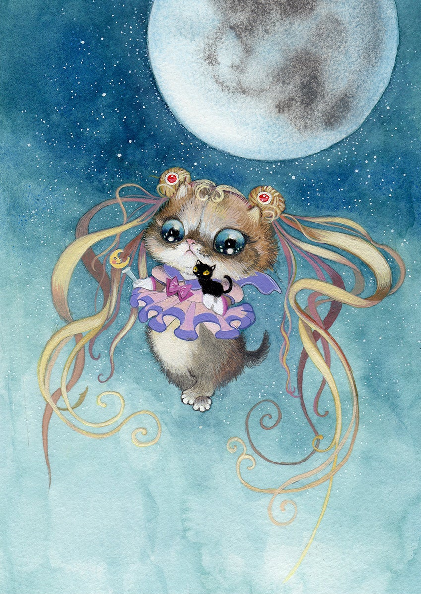 """Image of """"Sailor Moon"""" Limited Edition Print"""