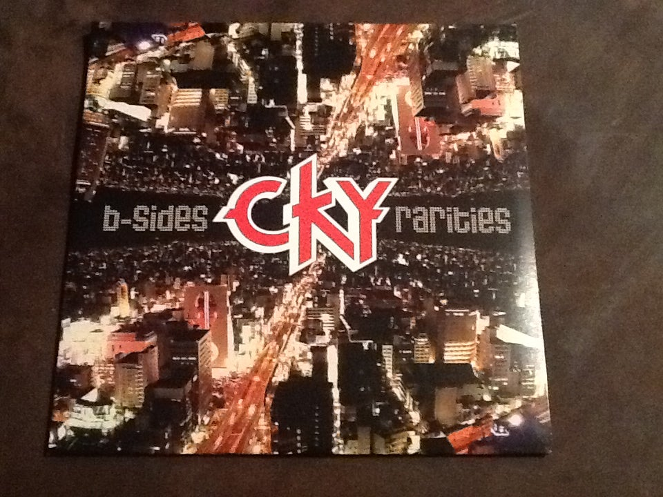 Image of CKY B sides And Rarities DOUBLE vinyl! 2 LPs red and purple!