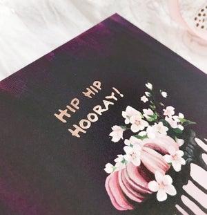 Image of Hip Hip Hooray - Greeting card