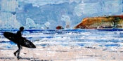 Image of Winter seas and salty air, Polzeath, Cornwall