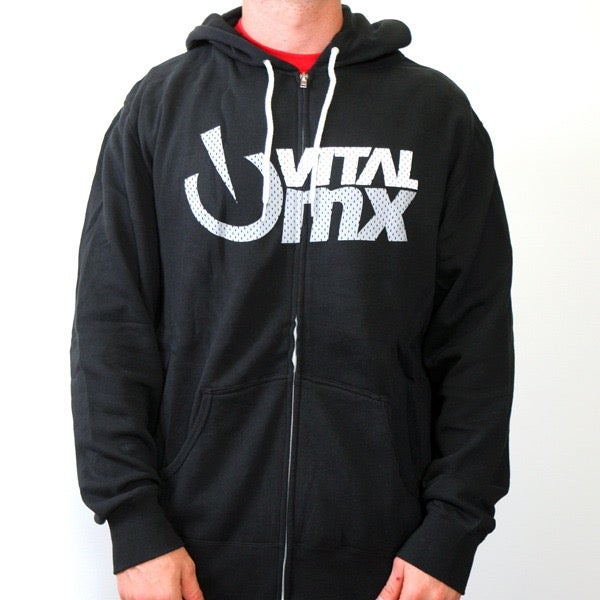Image of Vital MX Vents Logo Hoody, Black