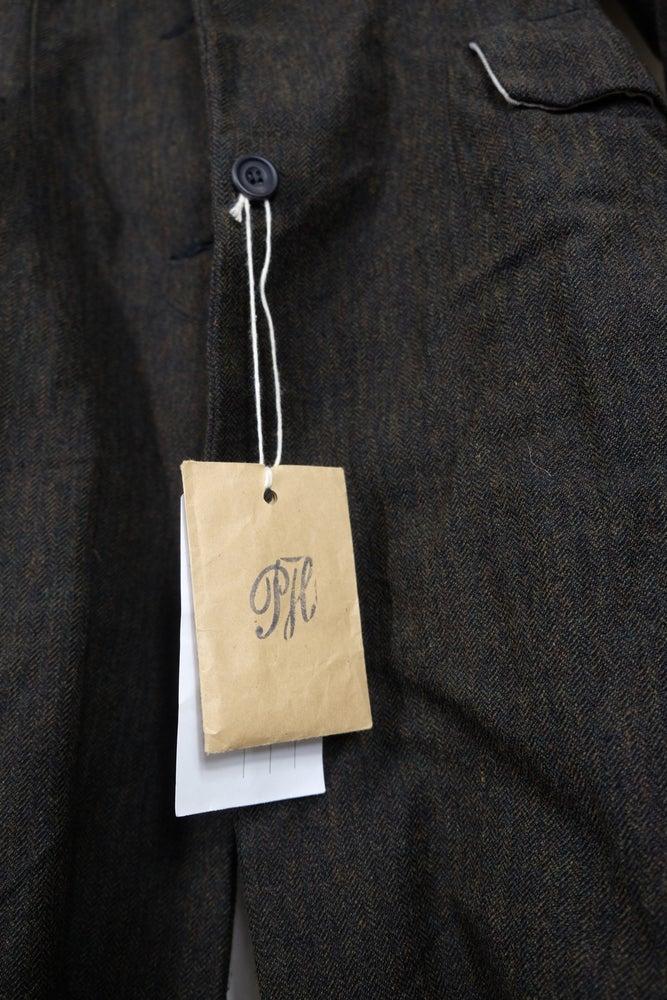Image of Paul Harnden Shoemakers Women's Long Bustle Coat Size L