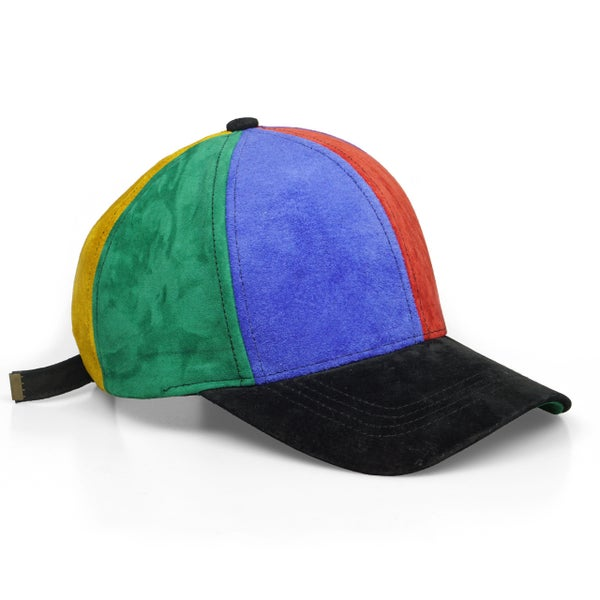 Image of Suede Dad Hat (Multi Color)