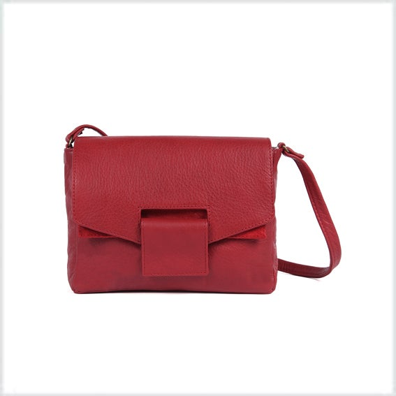 Image of -40% <br>Fox cuir rouge 149€