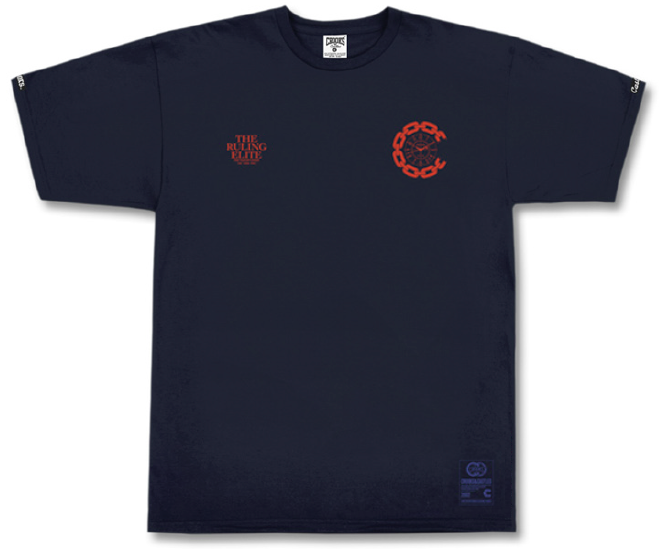 Image of CROOKS & CASTLE T.R.E GRILL MENS T-SHIRT