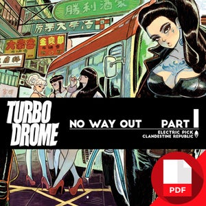 Image of TURBO DROME no way out Part 1 DIGITAL EDITION