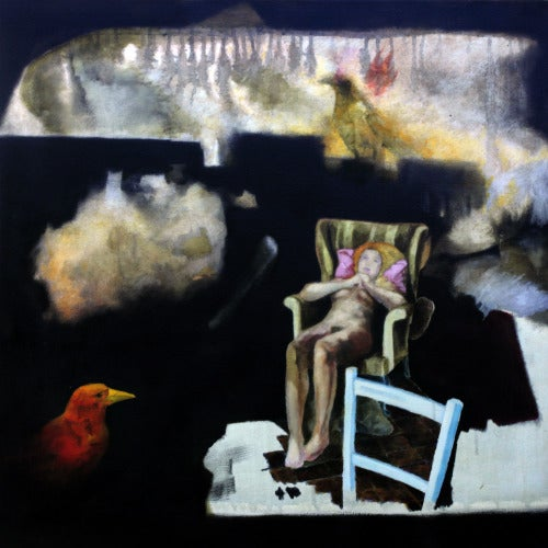 Image of 'The Red Crow / The Empty Blue Chair' by Jason Lee
