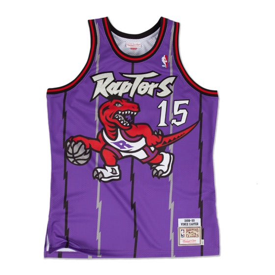 Image of New Vince Carter 1998-99 Authentic Jersey Toronto Raptors Purple