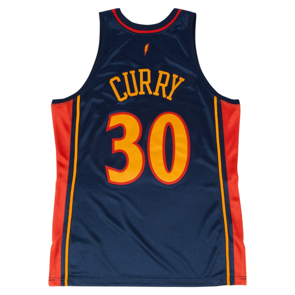 Image of Stephen Curry 2009-10 Authentic Jersey Golden State Warriors
