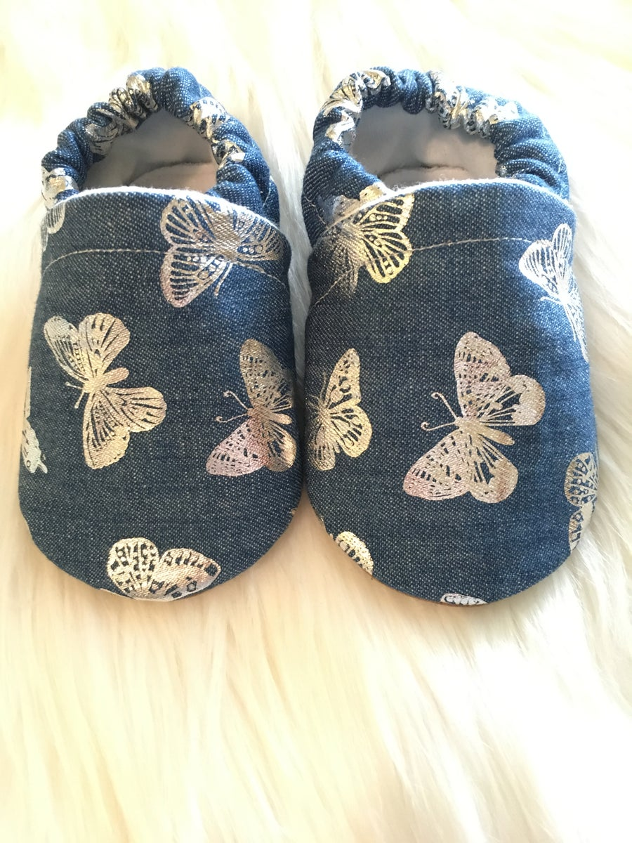 Image of Denim Butterfly