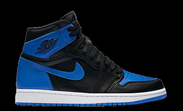 """Image of Nike Air Jordan 1 """"Royal"""" - 2017"""