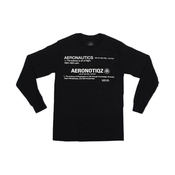Image of Black Defintion L/S Tee