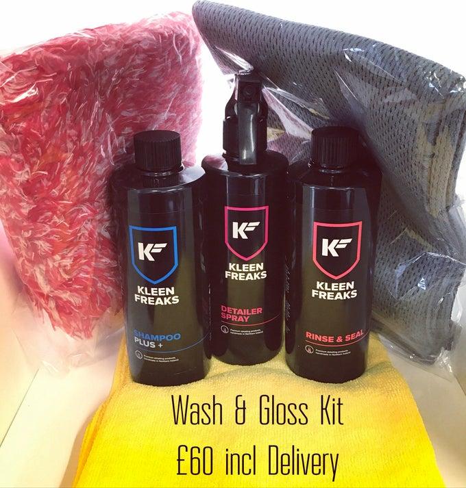 Image of Wash & Gloss Kit