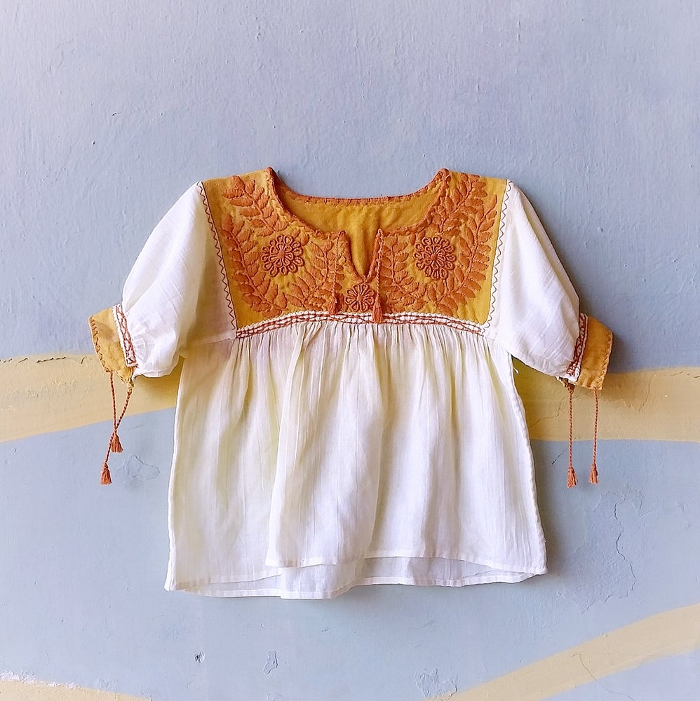 Image of LUXE Organic Ochre Top