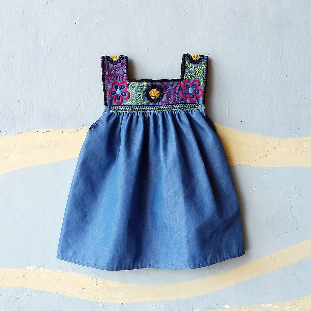 Image of Denim Dream Dress LIGHT