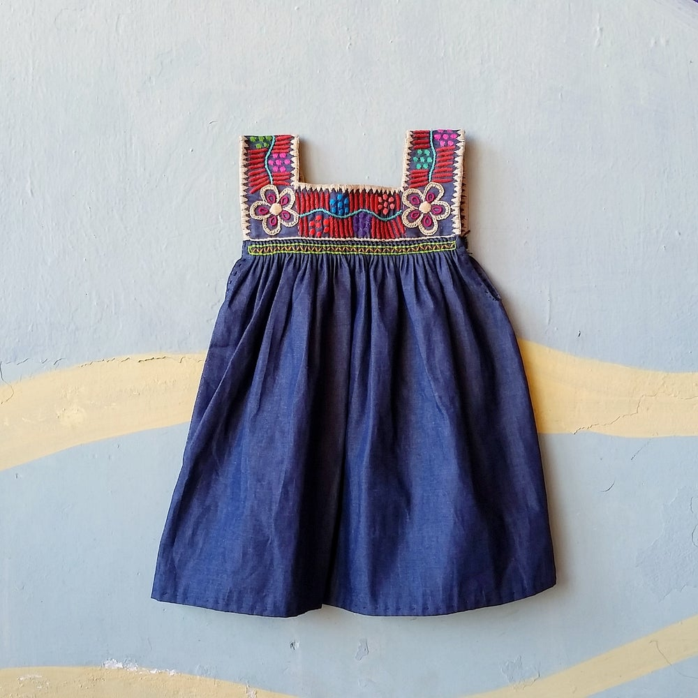 Image of Denim Dream Dress DARK