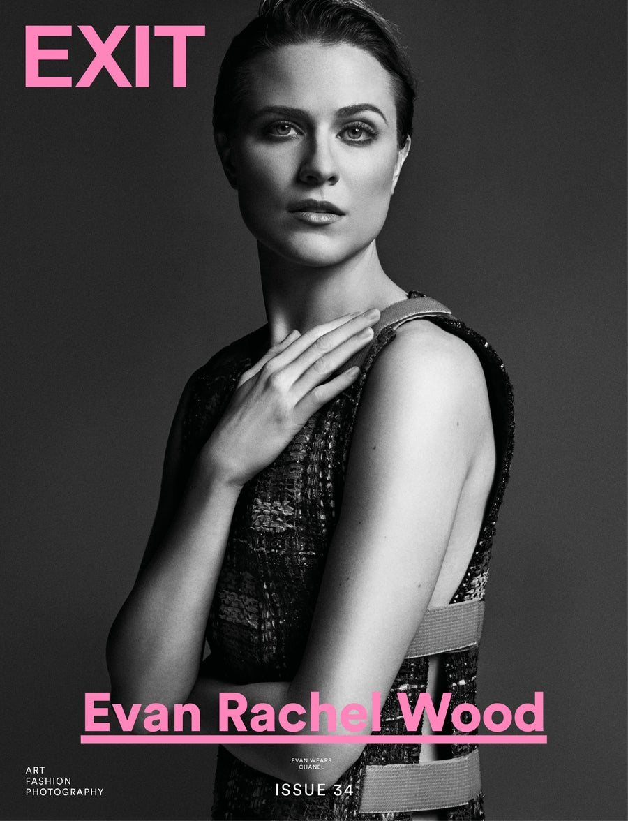 Image of EXIT MAGAZINE ISSUE 34 (EVAN RACHEL WOOD COVER) SHIPPING APRIL 25TH PRE-ORDER PRICE DISCOUNT