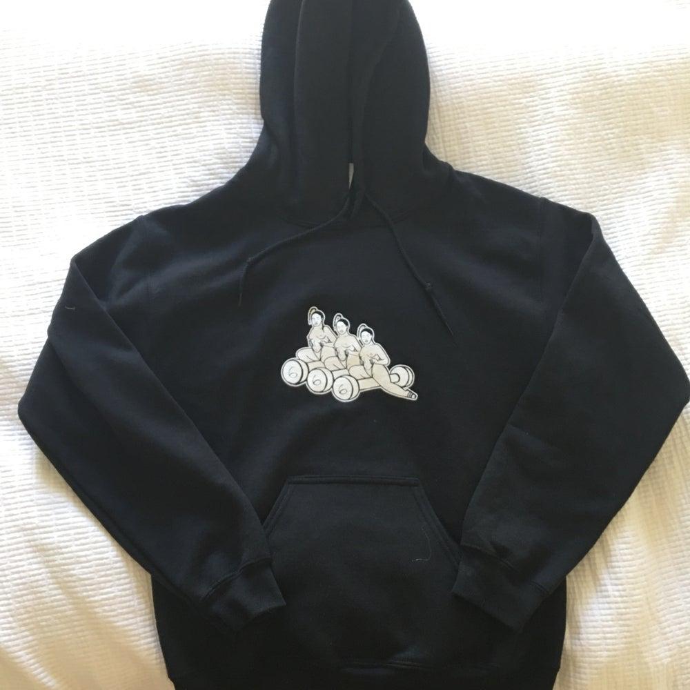 Image of boogie wit da hoodie black n white