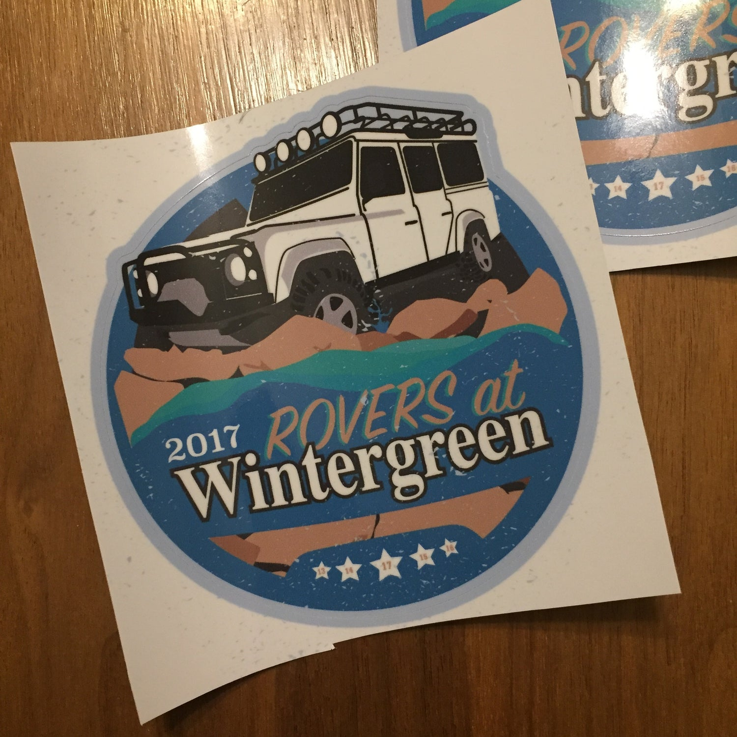 Image of 2017 Rovers At Wintergreen Decal